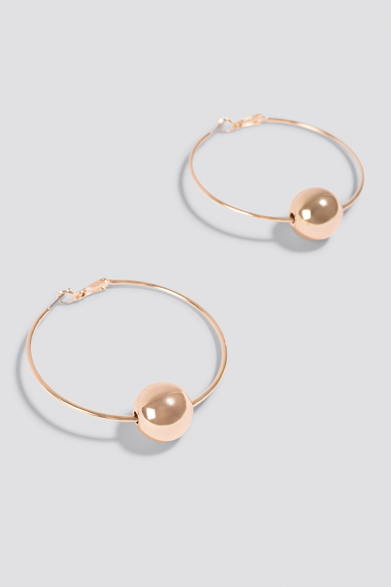 Pearl Hoop Earrings NA-KD.COM