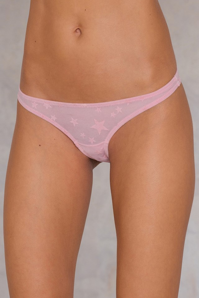 Star Brief Pink