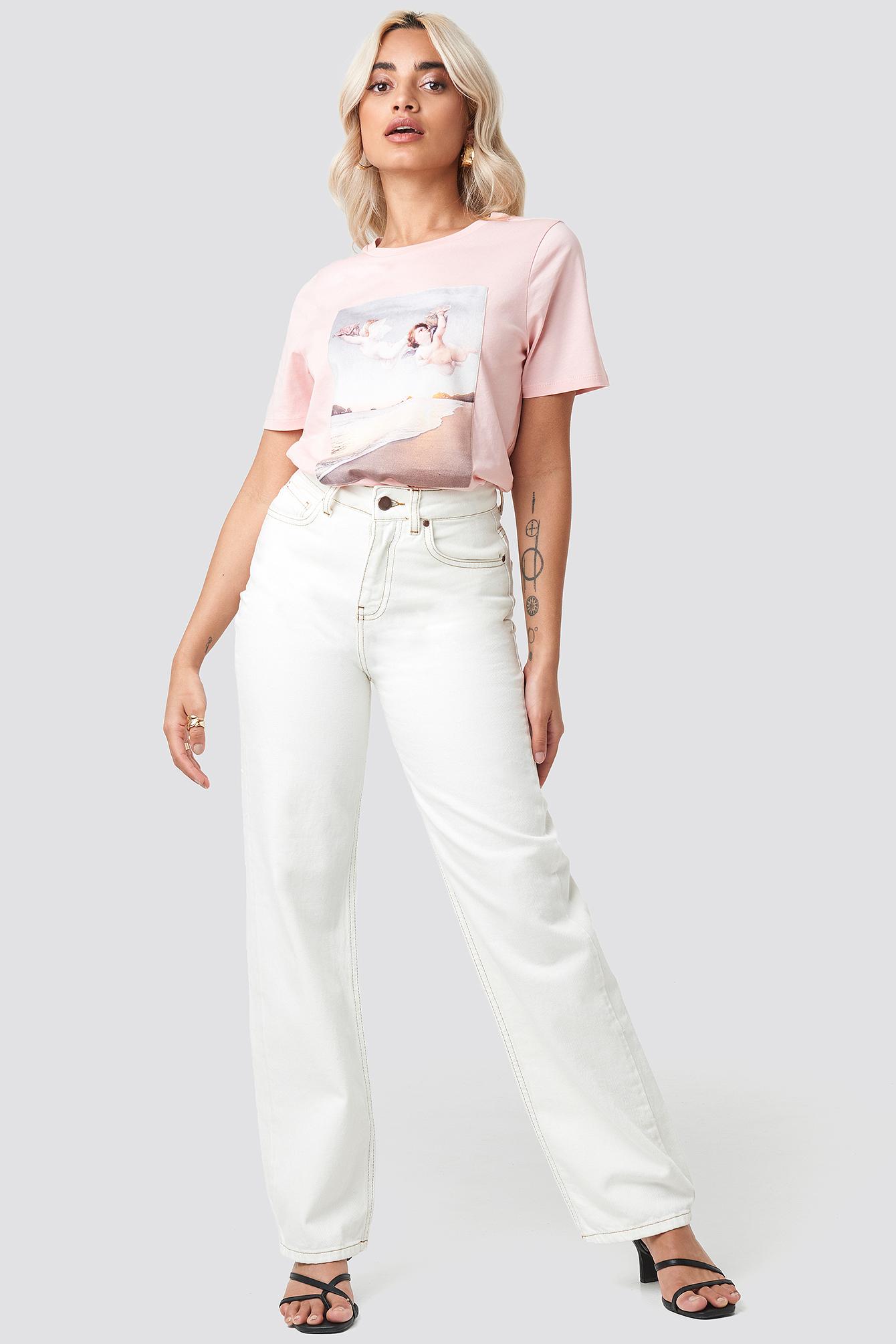 Angels T-shirt NA-KD.COM