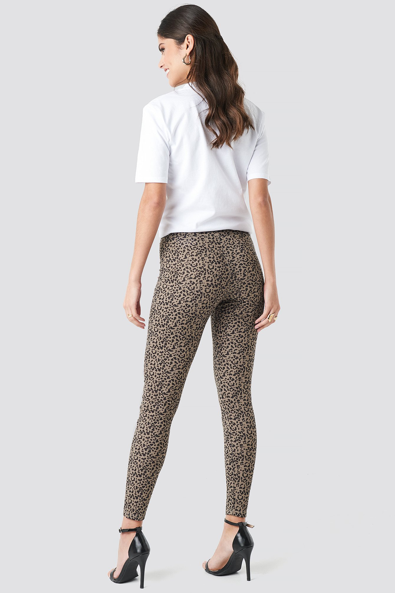 Animal Printed Leggings NA-KD.COM