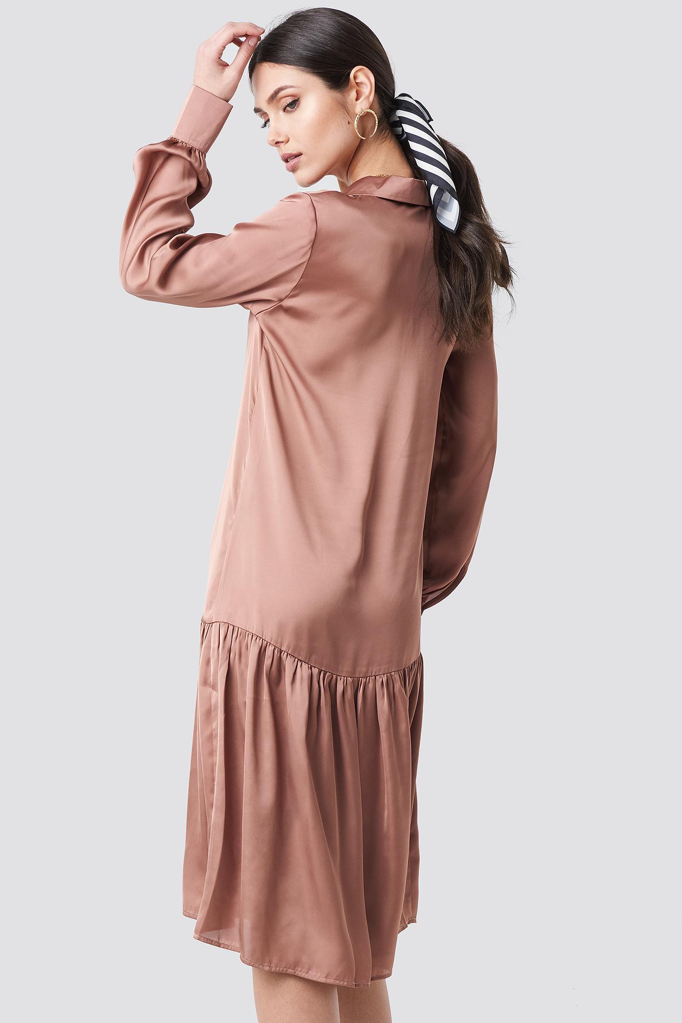 Ankle Length Dress NA-KD.COM