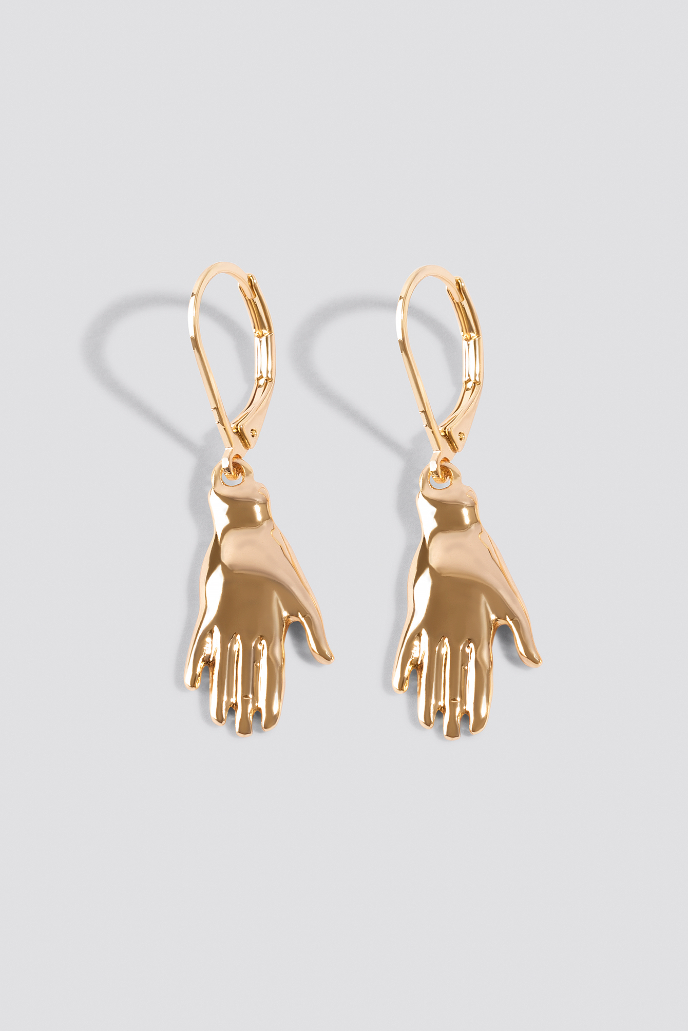Antique Hand Drop Earrings NA-KD.COM