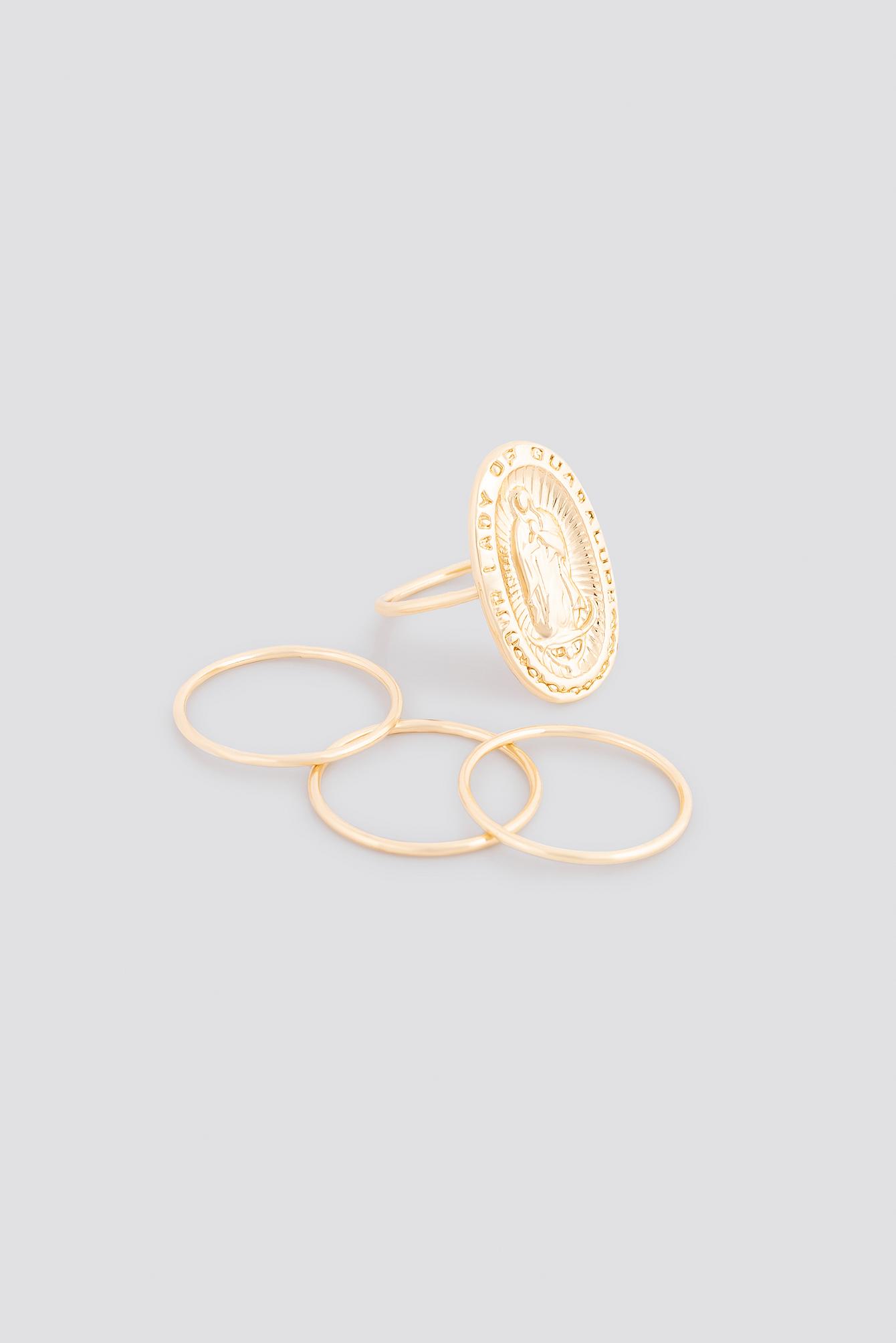 Antique Look Signet Ring Set NA-KD.COM