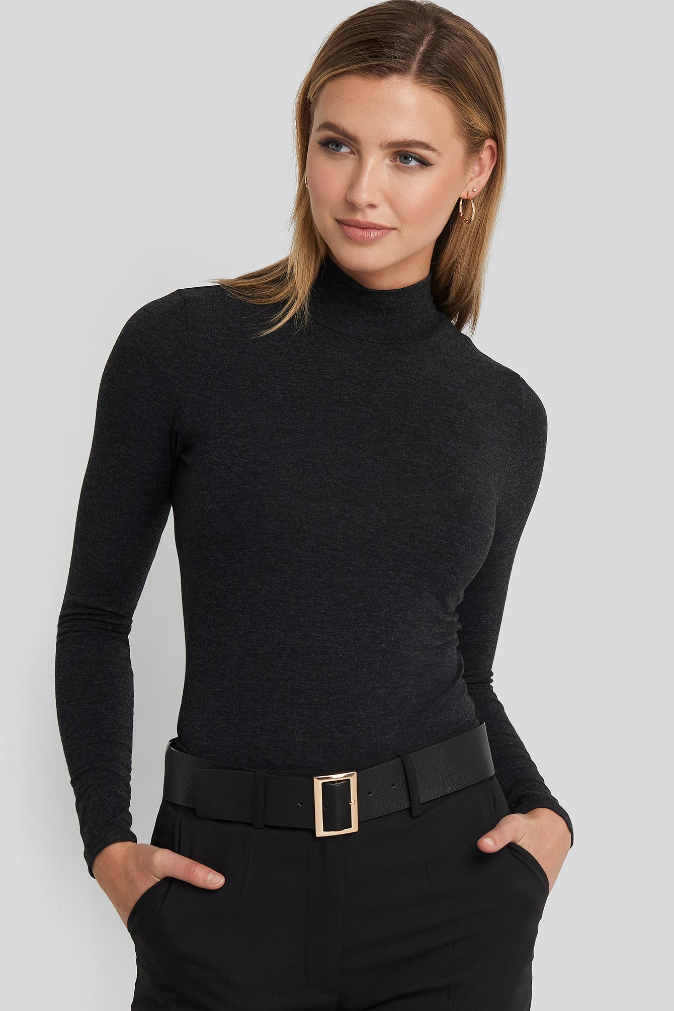 Sisters Point Rik Long Sleeve Top - Black