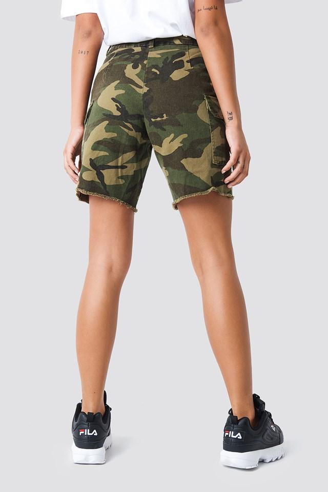 Army Bermuda Shorts Army
