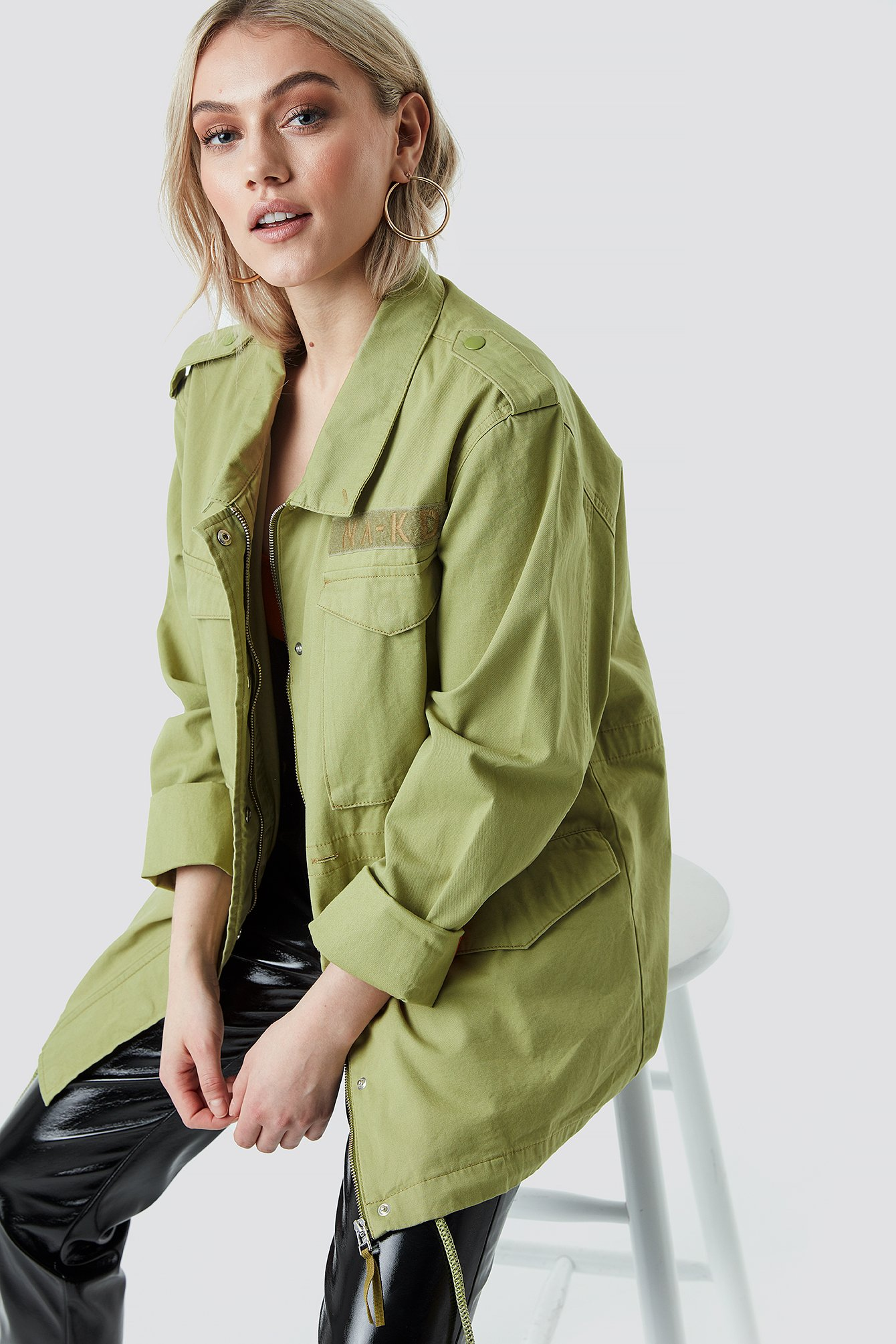 Army Jacket - Green from NA-KD