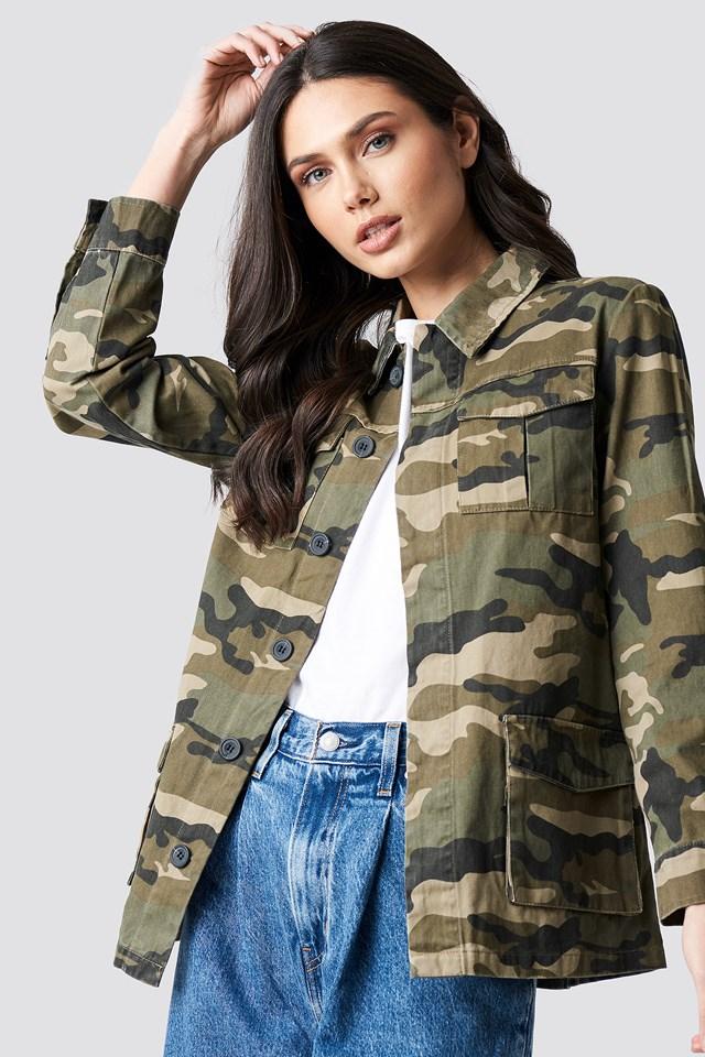 Army Jacket Print