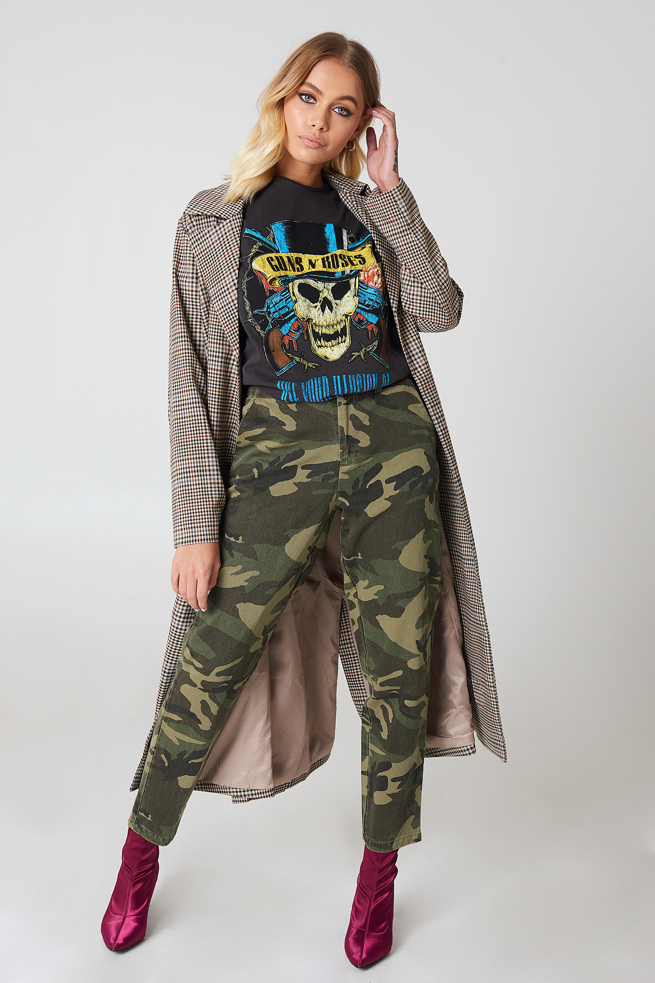 Army Loose Fit Pants NA-KD.COM