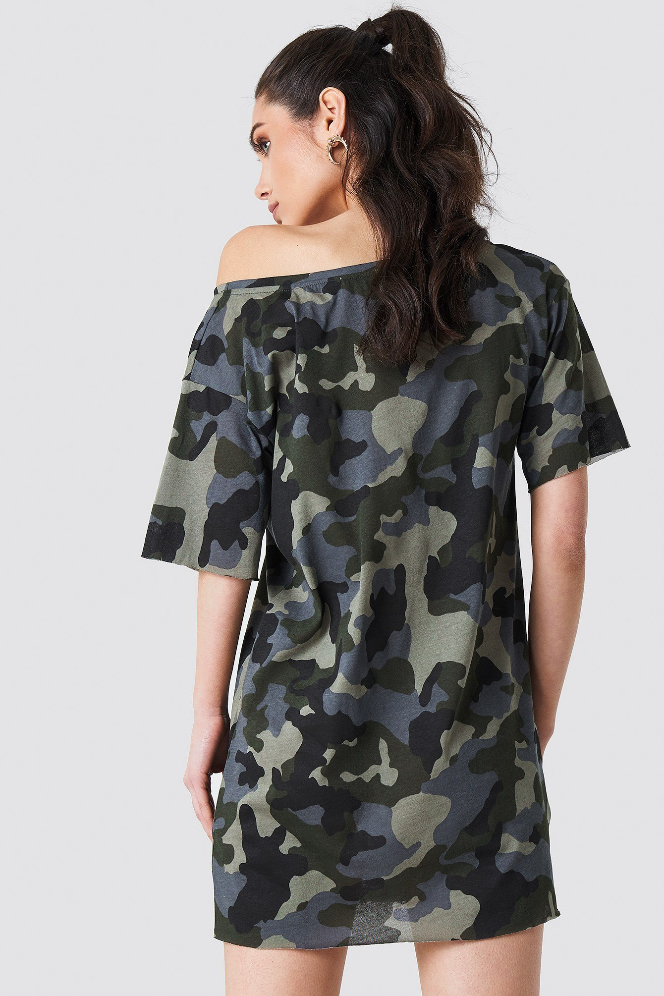 Army T-shirt Dress NA-KD.COM