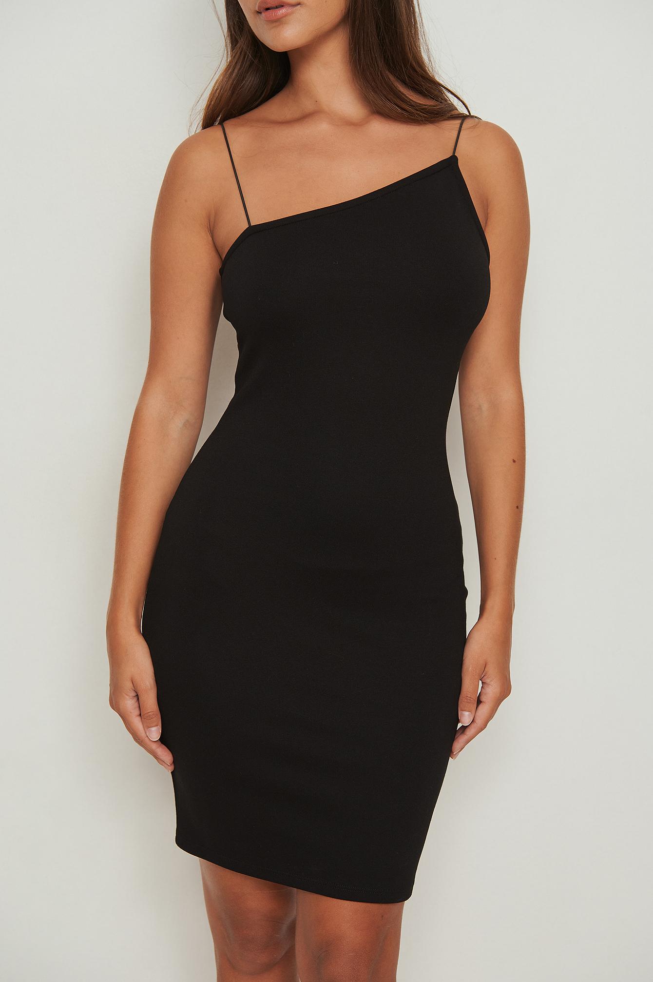 na-kd party -  Asymmetrisches Kleid - Black