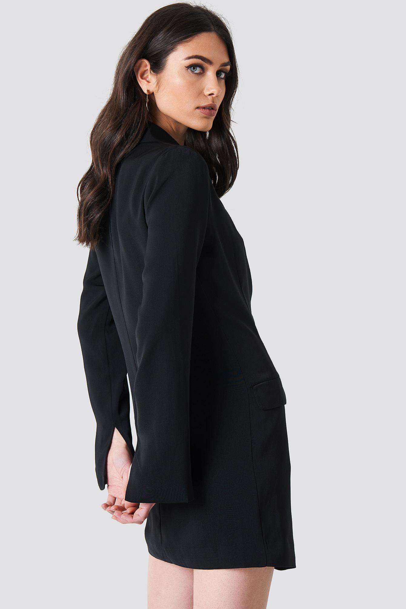 Asymmetric Blazer Dress NA-KD.COM
