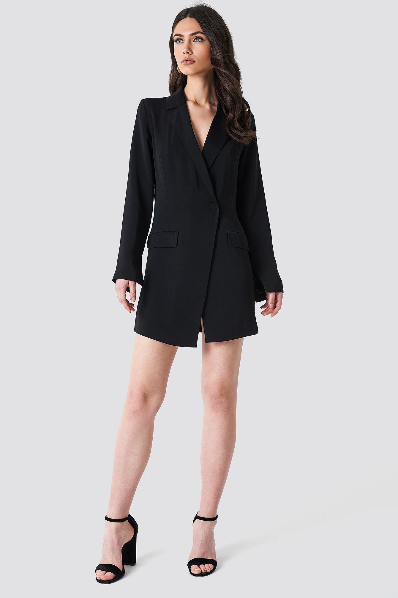 NA-KD Asymmetric Blazer Dress Authentique Pas Cher En Ligne En France Pas Cher En Ligne Livraison Gratuite 100% Garanti Images Footlocker Sortie kFvmI8XTr
