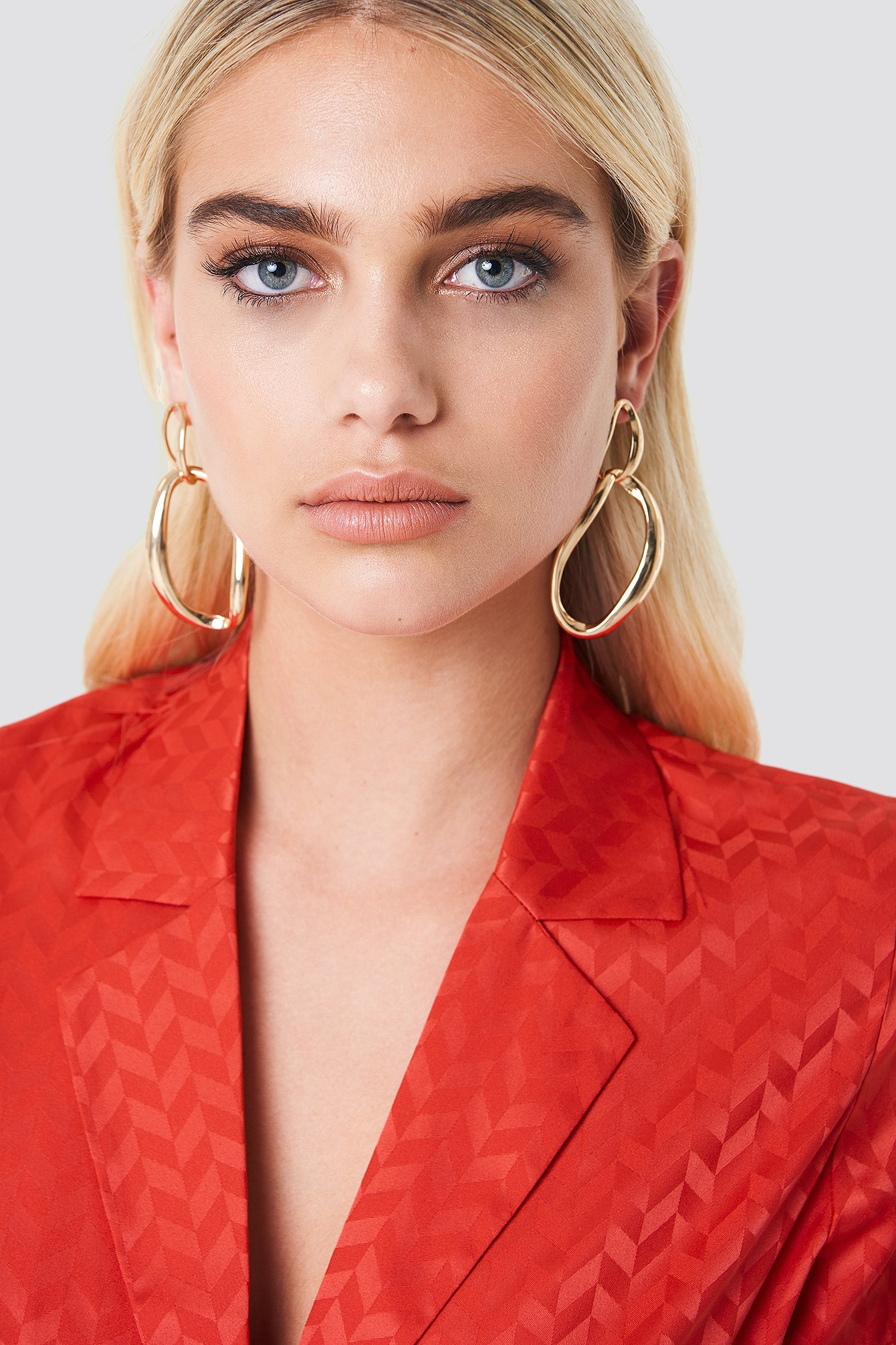 Asymmetric Hoop Earrings NA-KD.COM