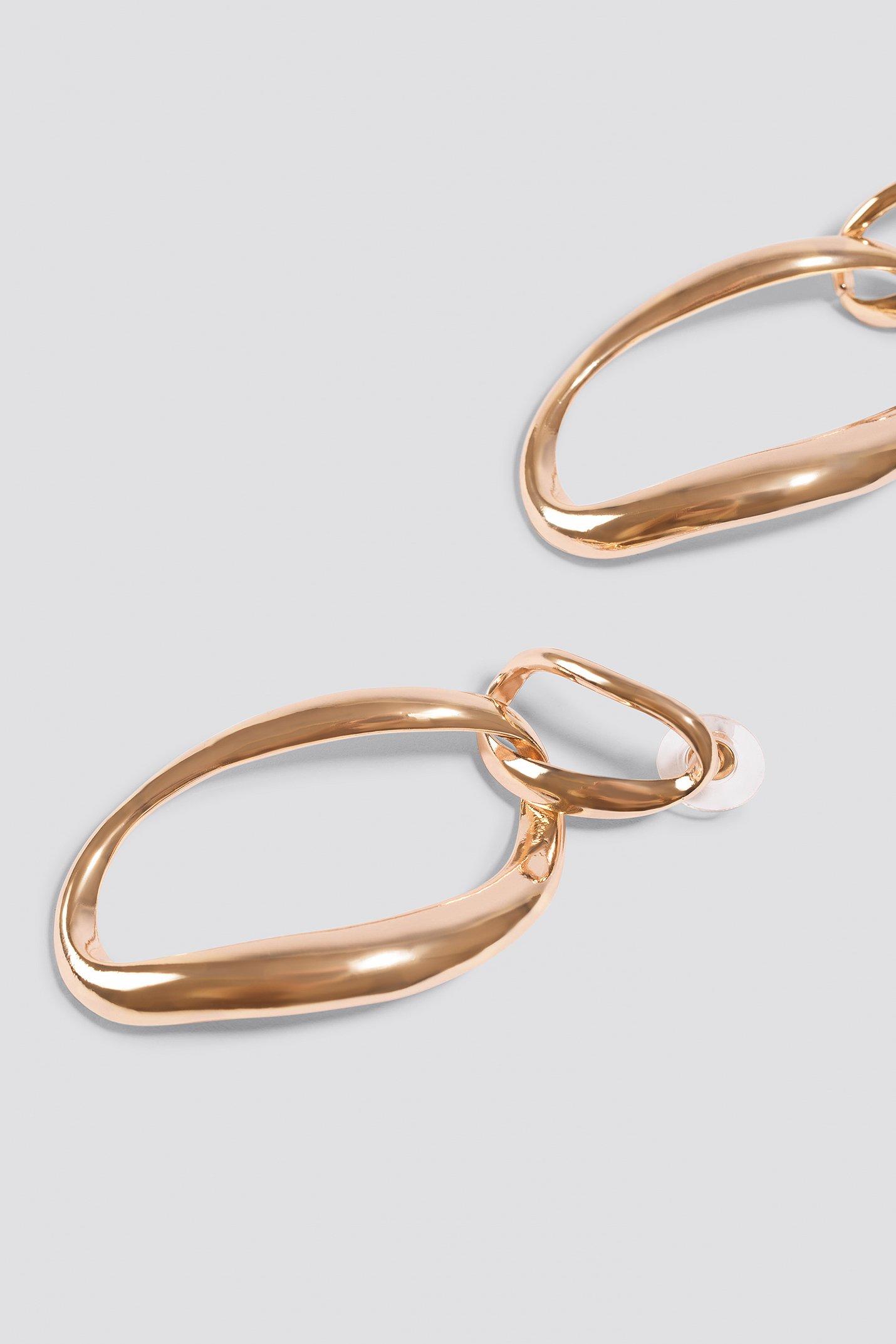 Asymmetric Hoop Earrings NA-KD.COM