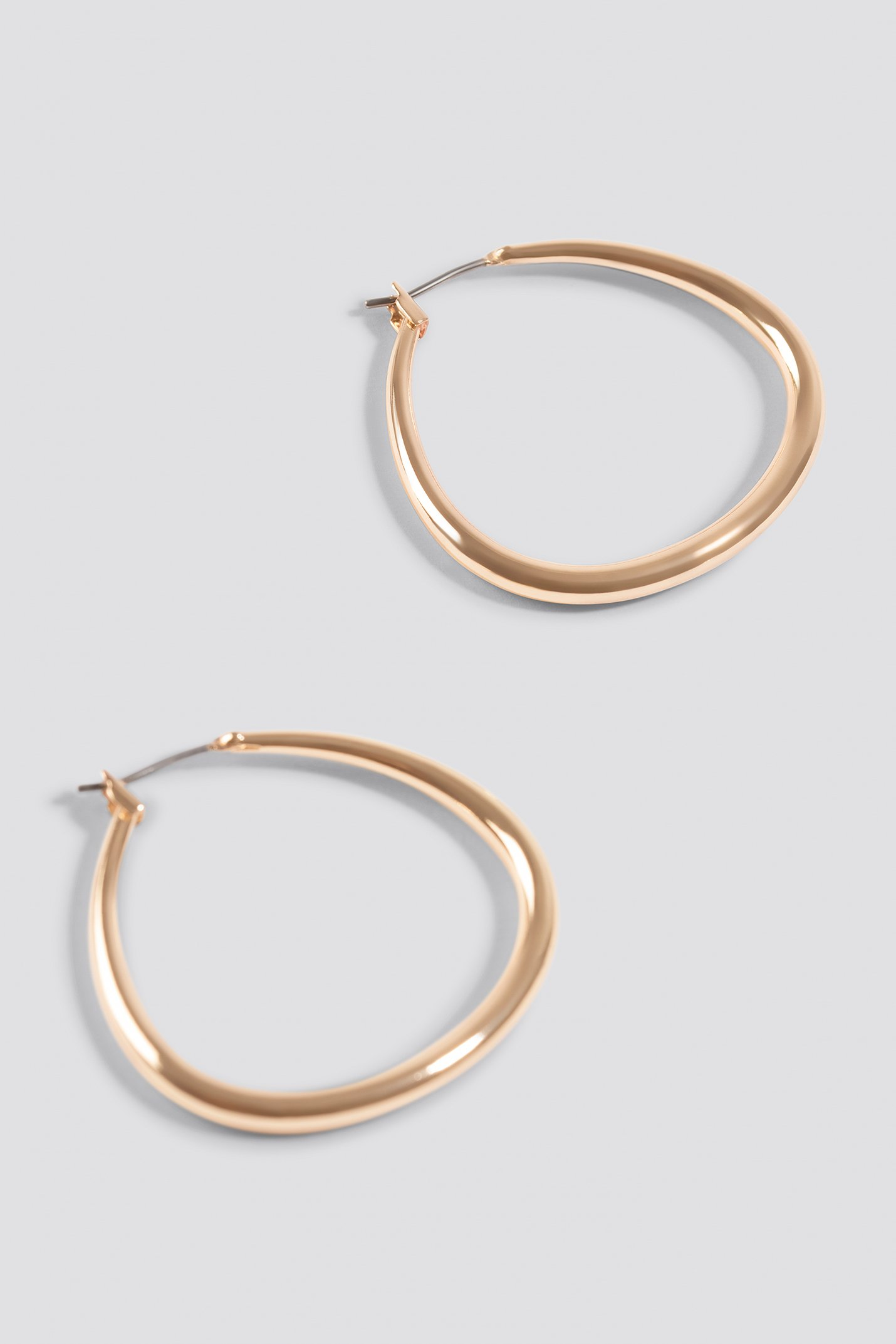 Asymmetric Mini Hoop Earrings NA-KD.COM