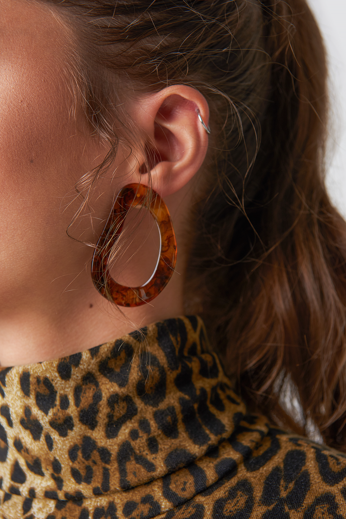 Asymmetric Resin Earrings  NA-KD.COM