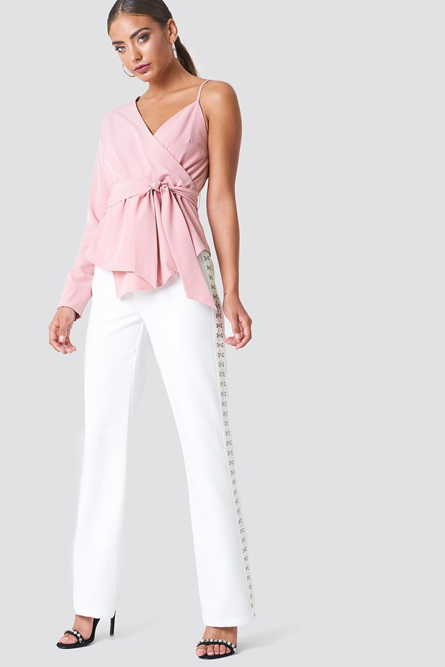 Asymmetric Shoulder Shirt NA-KD.COM