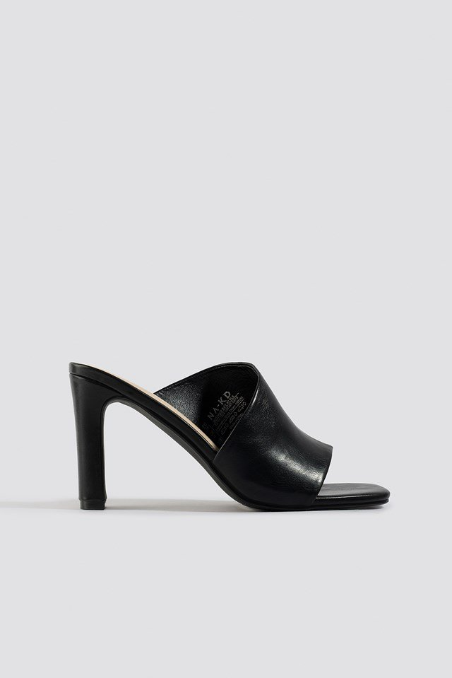 Asymmetric Strap Mules NA-KD Shoes