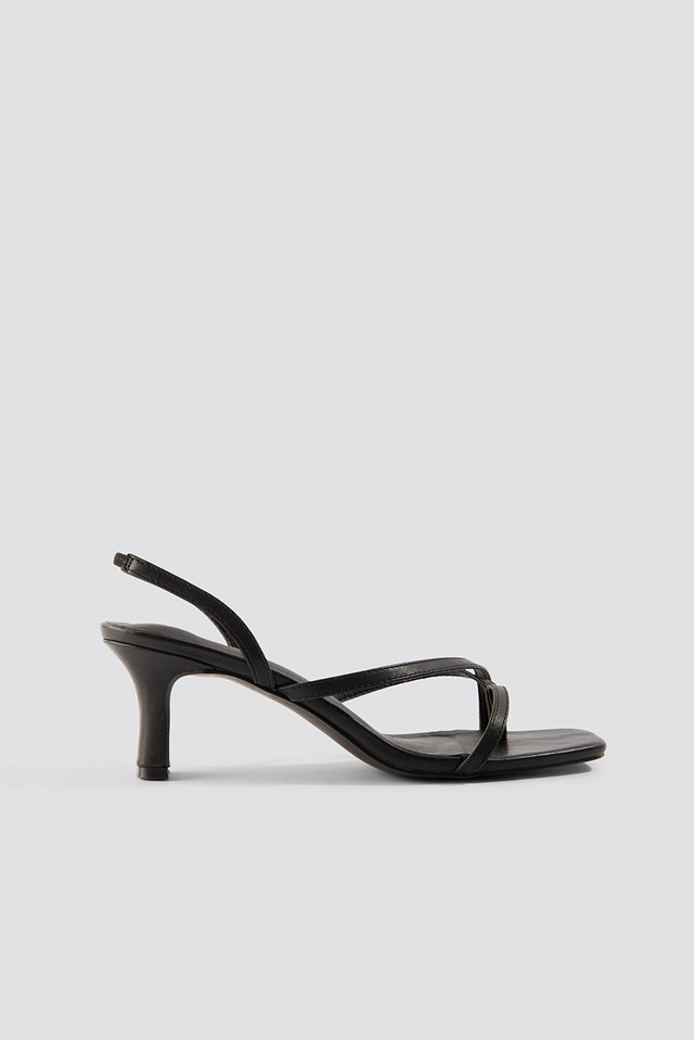 Asymmetric Straps Sandals NA-KD Shoes