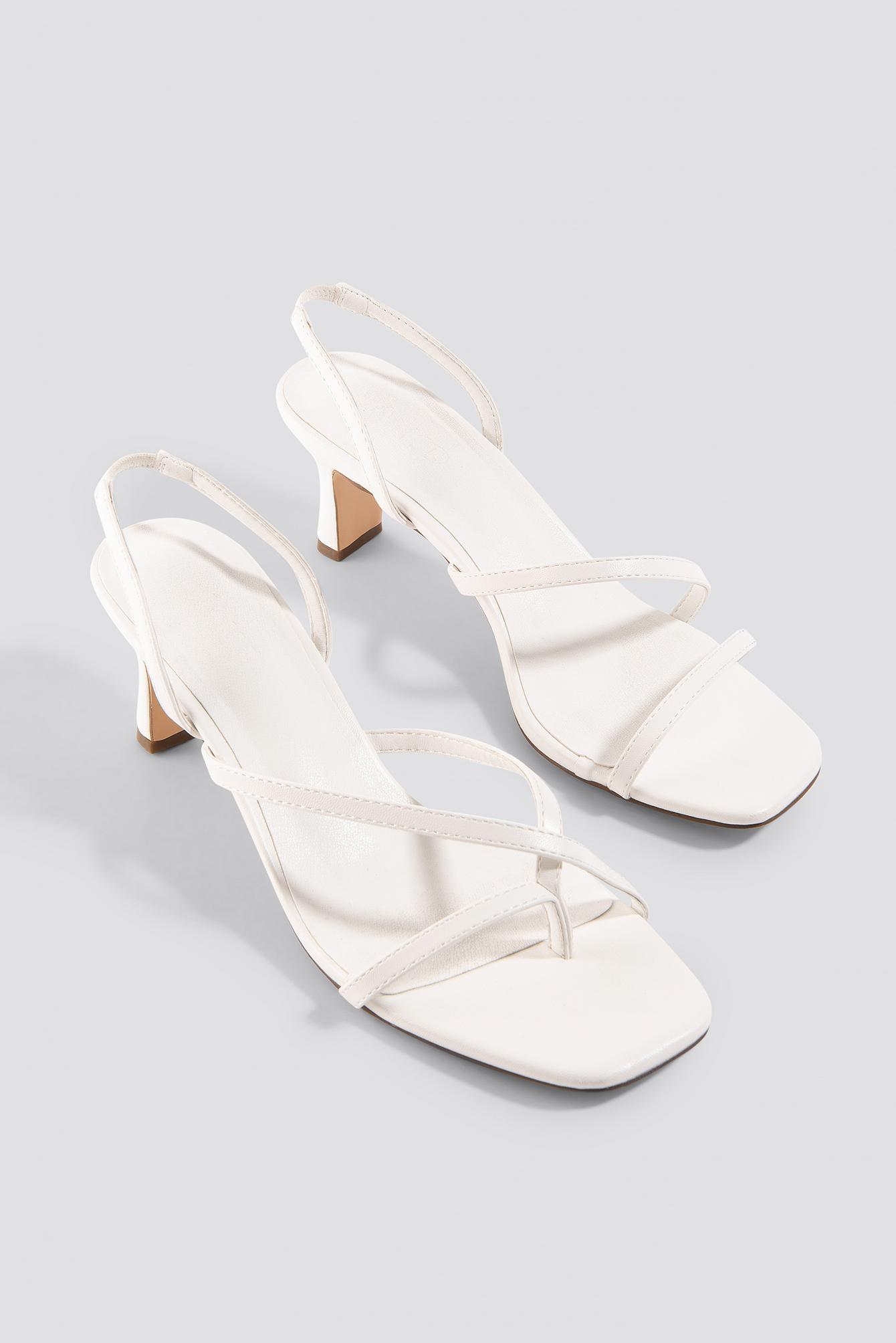 Asymmetric Straps Sandals NA-KD.COM