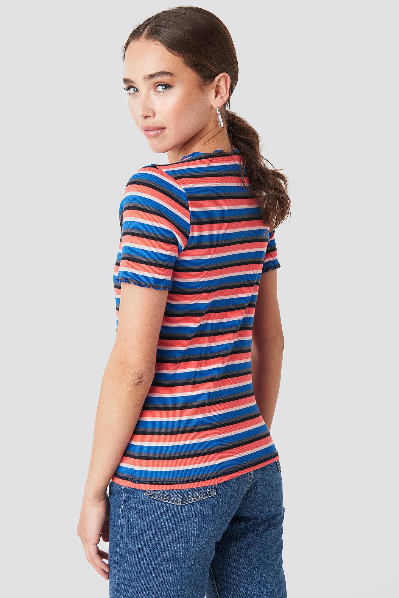 Babylock Striped Tee NA-KD.COM