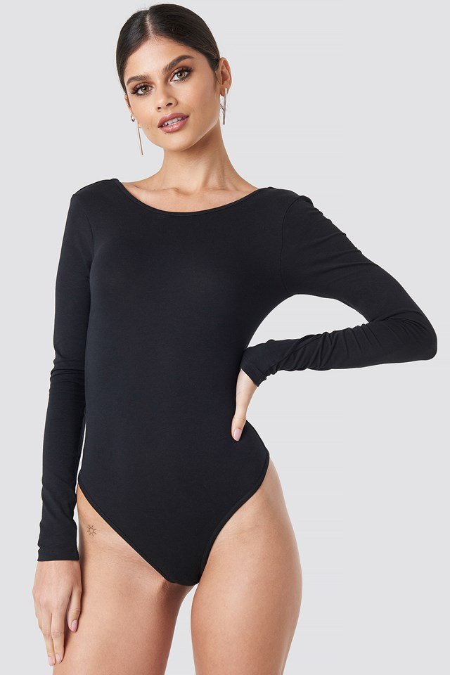 Back Knot Body Black