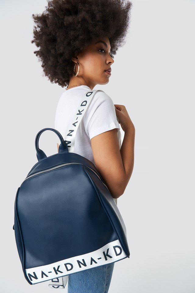 NA-KD Backpack Navy