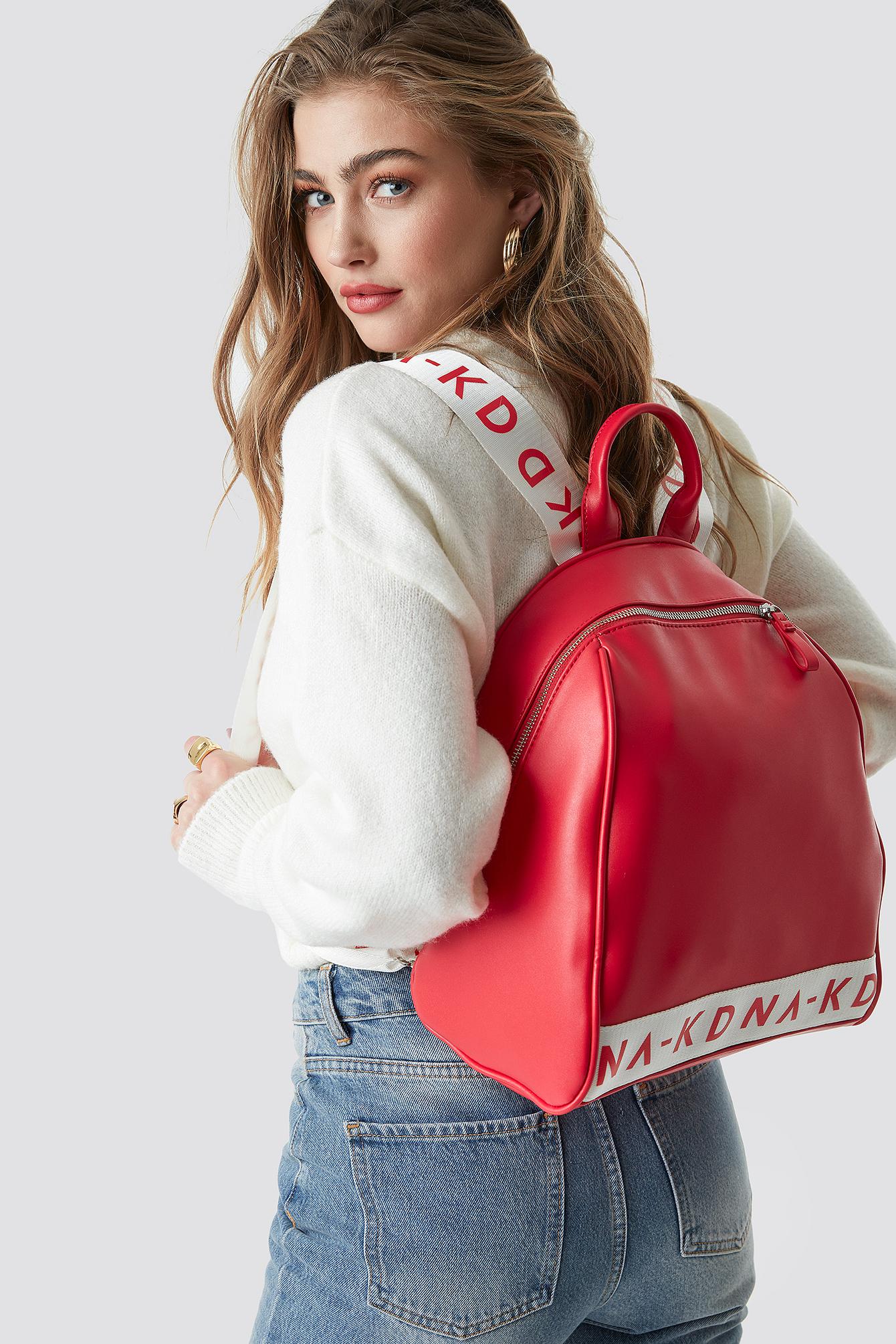 na-kd accessories -  NA-KD Backpack - Red