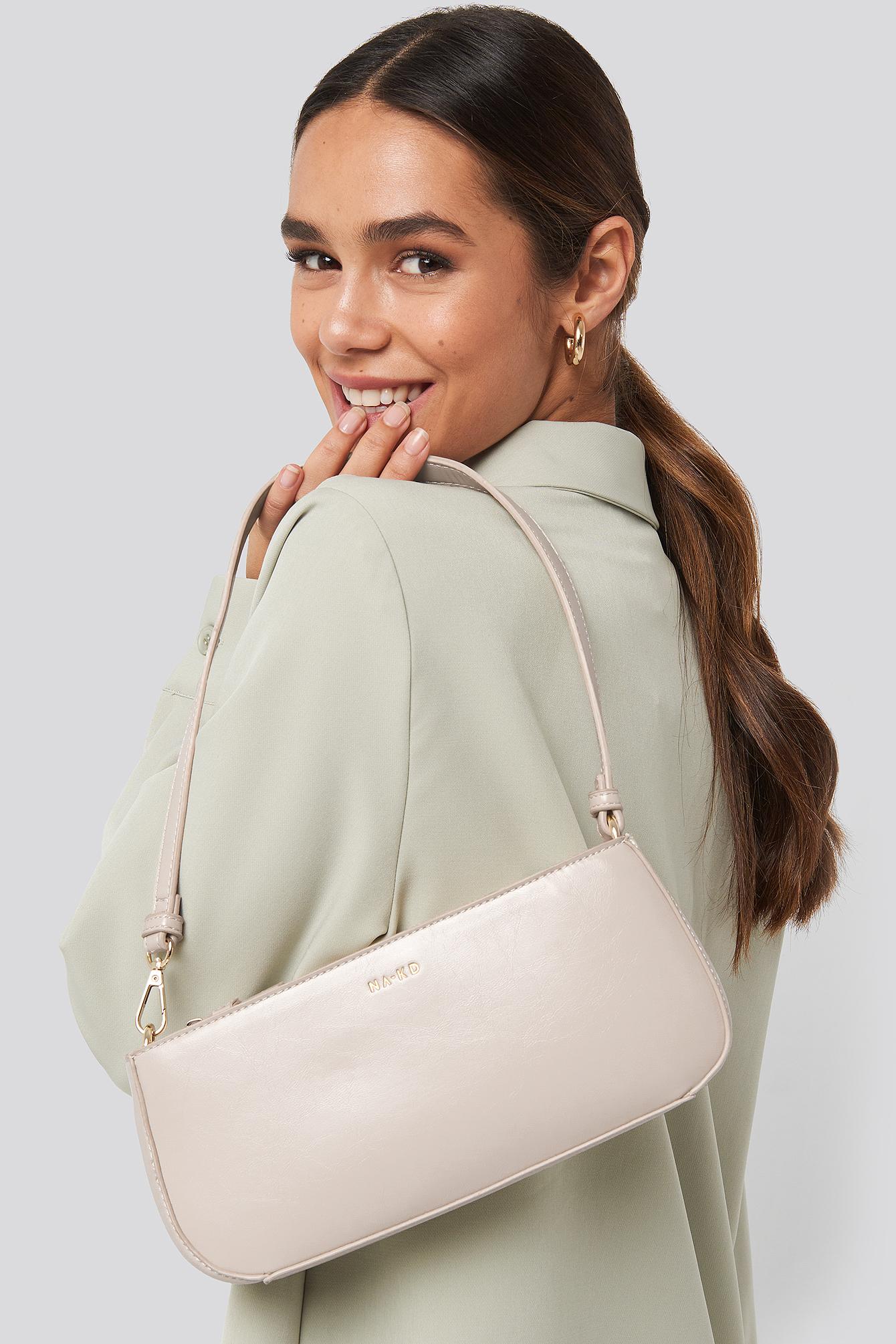 na-kd accessories -  Baguette Bag - Beige
