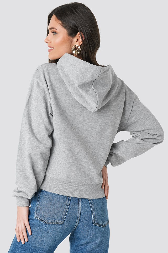 Basic Hoodie Grey Mel