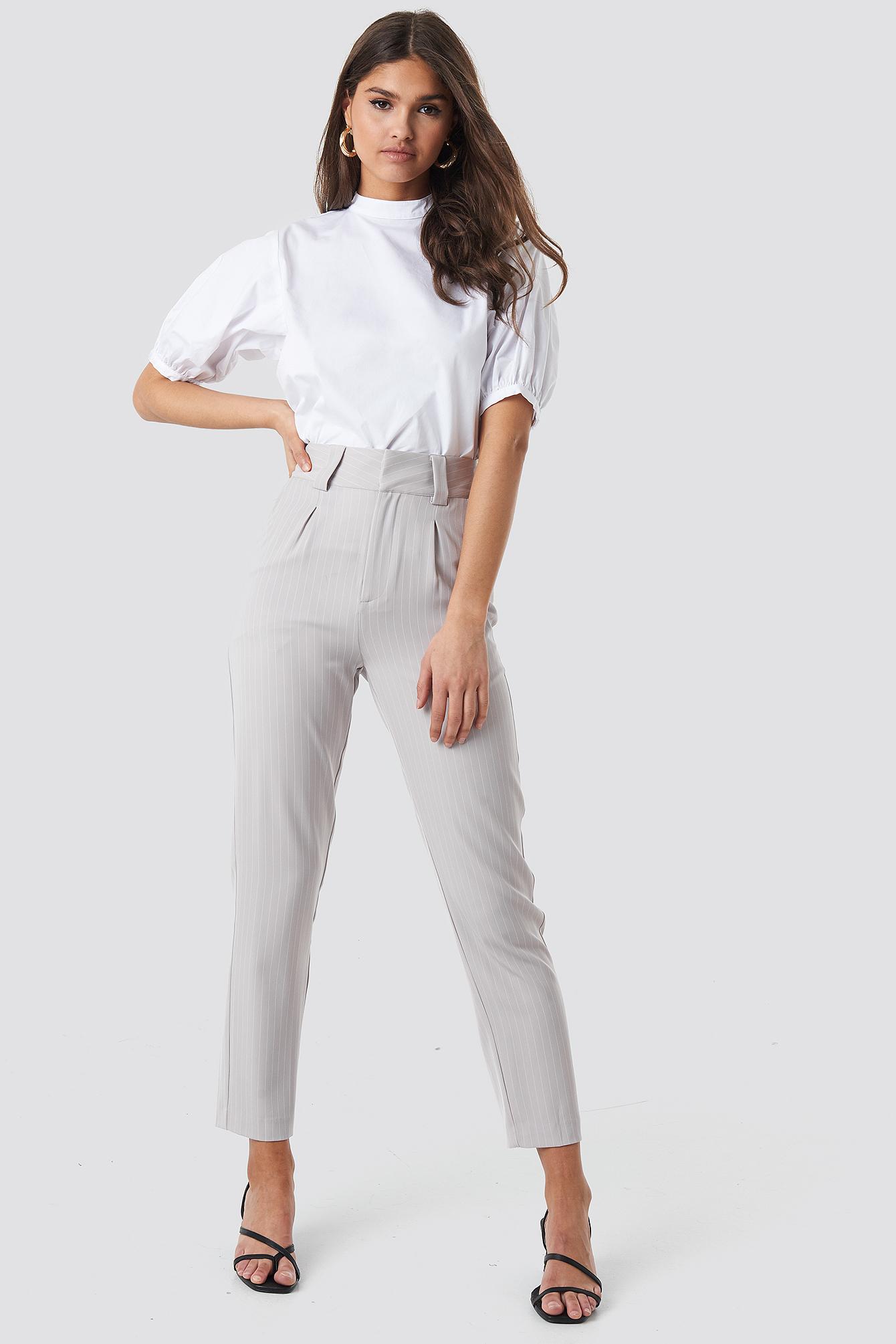 Balloon Short Sleeve Shirt NA-KD.COM