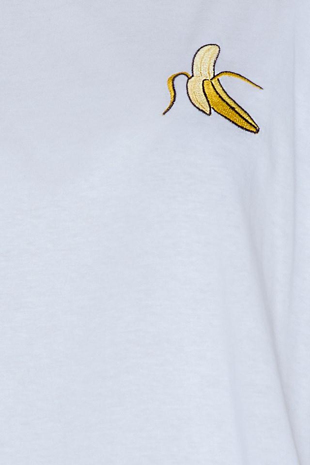 Banana Tee White