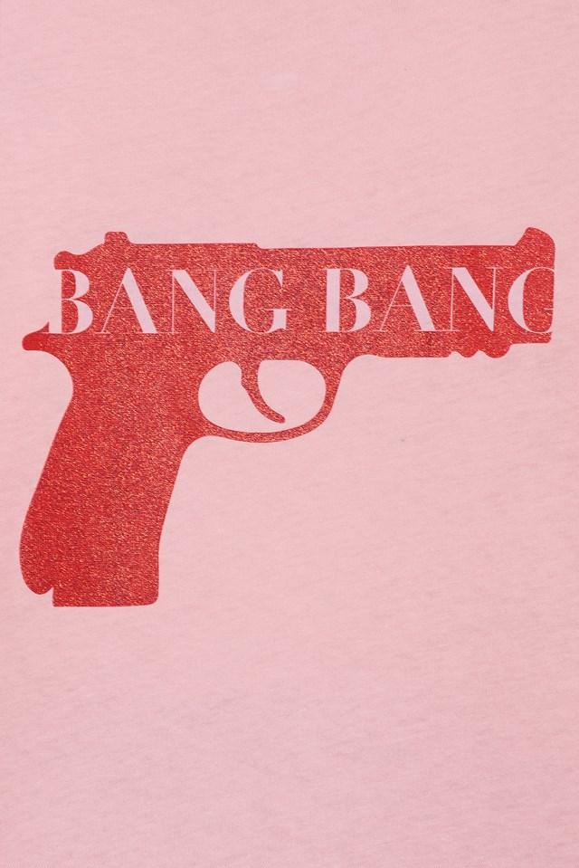 Bang Bang Glittery Tee NA-KD.COM