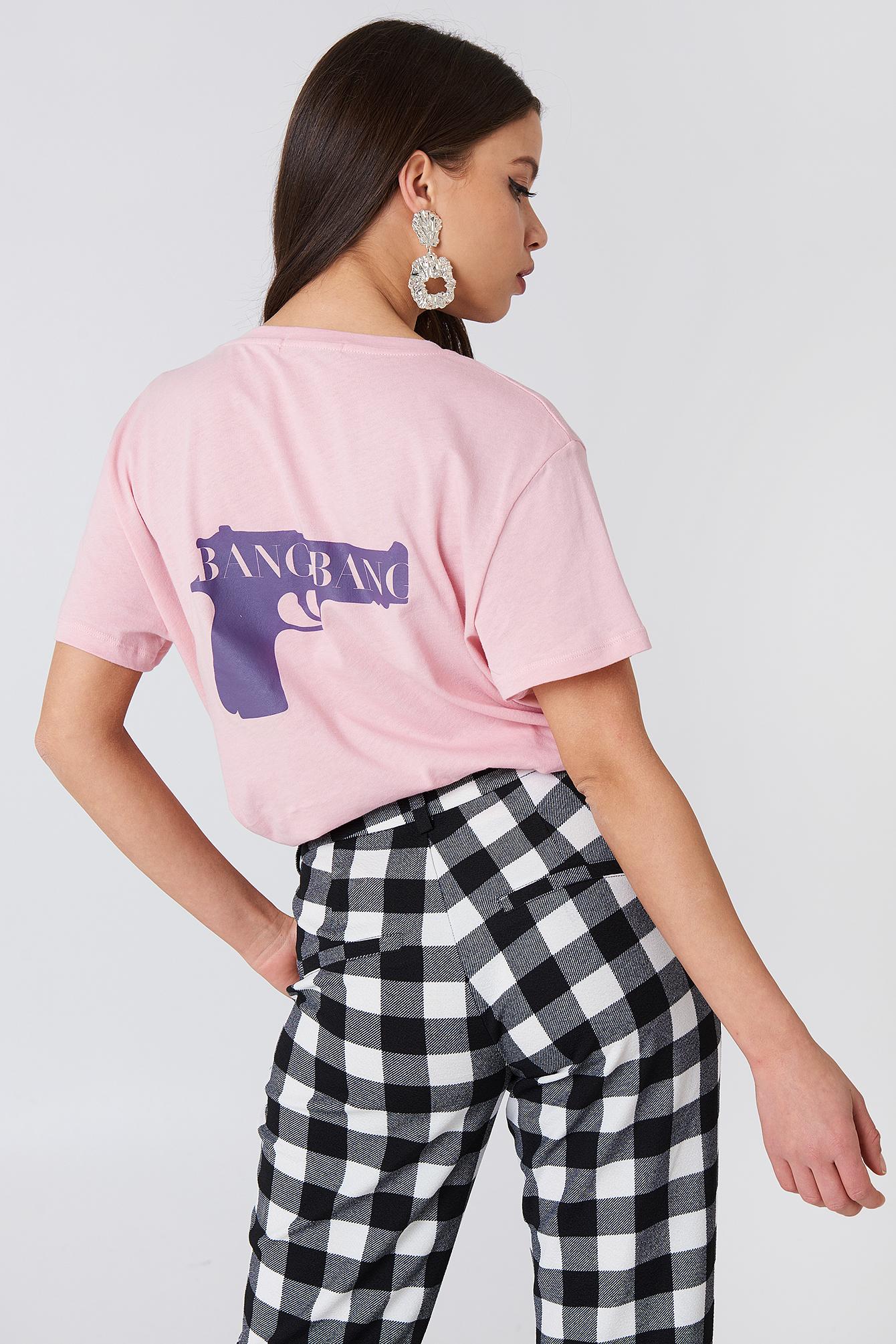 T-shirt Bang Bang NA-KD.COM