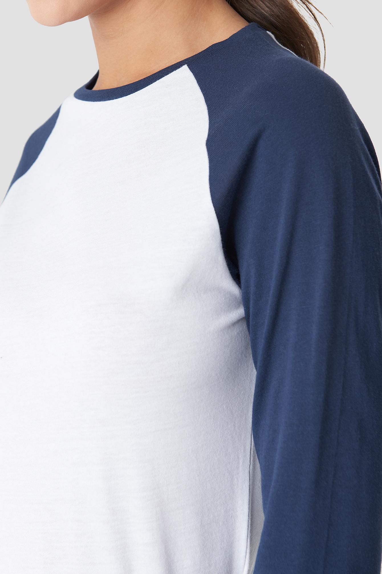 Baseball Long Sleeve Top NA-KD.COM