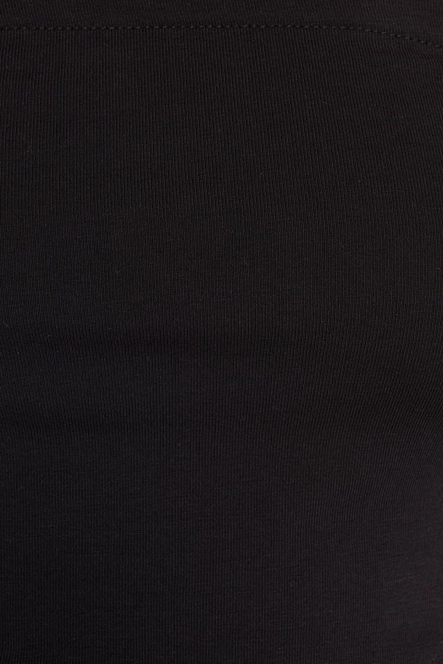 Basic Bandeau Top Black