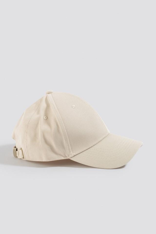 Basic Baseball Cap Beige