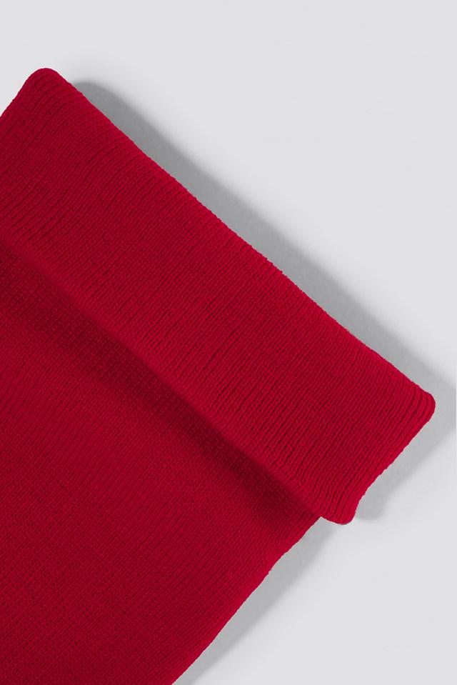 Basic Beanie Red
