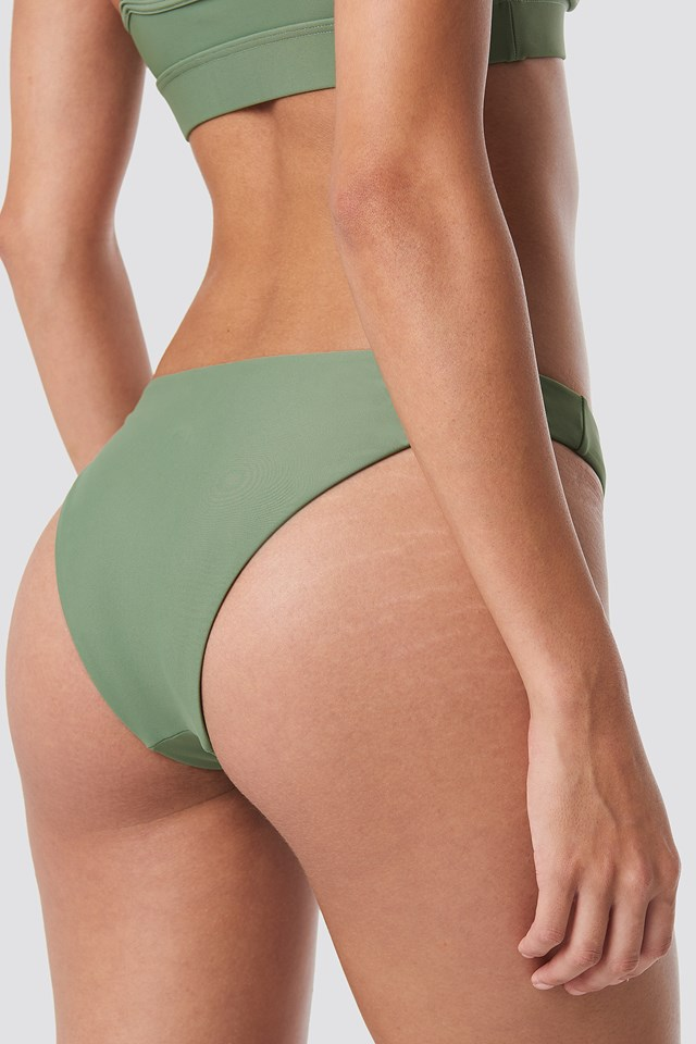 Basic Bikini Panty Pale Khaki