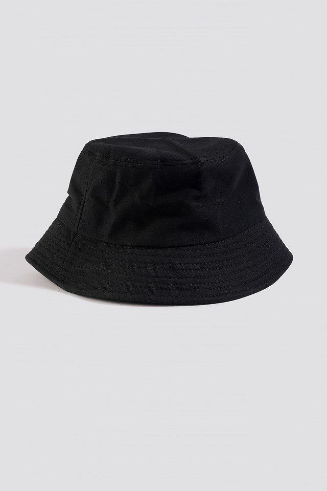 Basic Bucket Hat Black