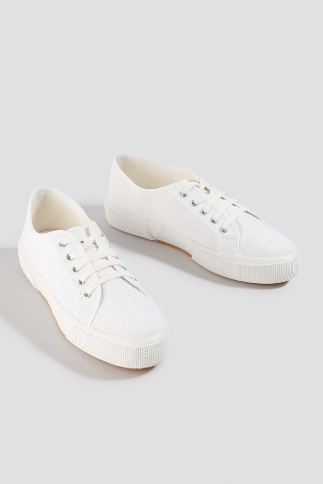 Basic Canvas Sneakers NA-KD Shoes