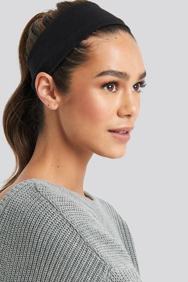 Basic Hairband Black