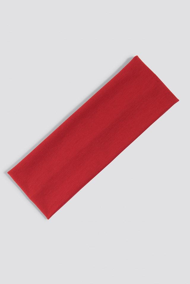 Basic Hairband Red