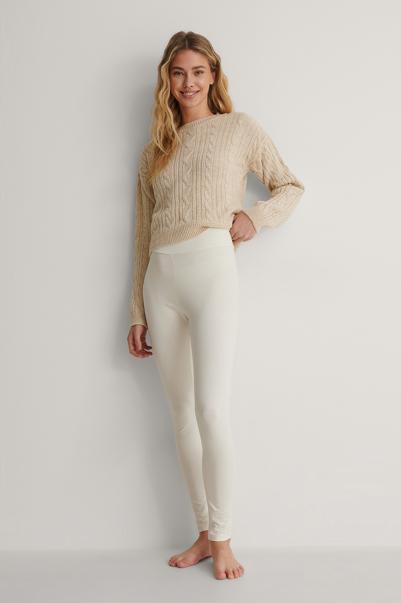 Offwhite Leggings