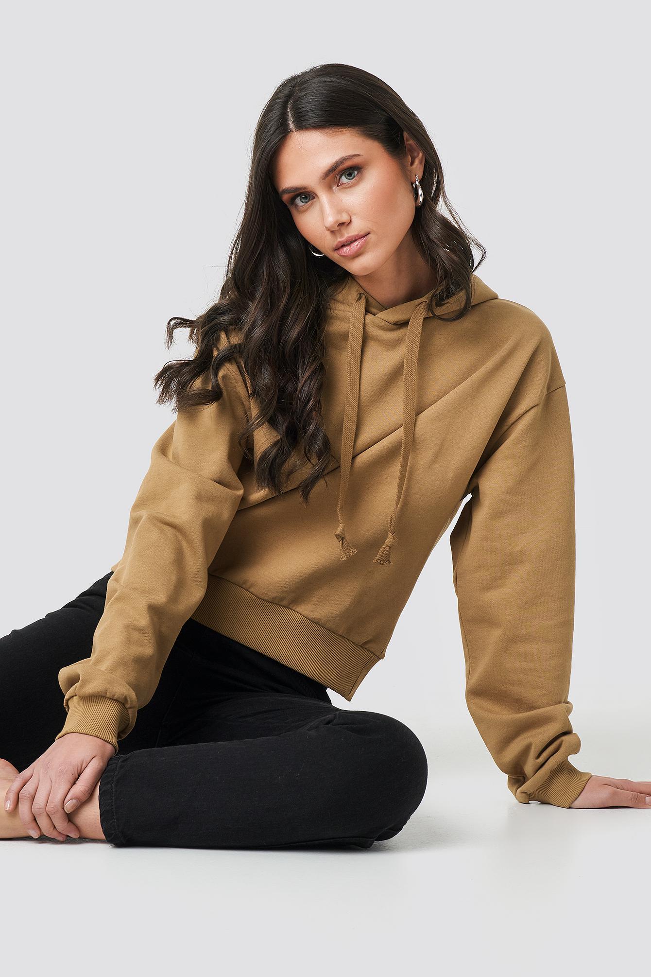 Bluza z kapturem basic NA-KD.COM