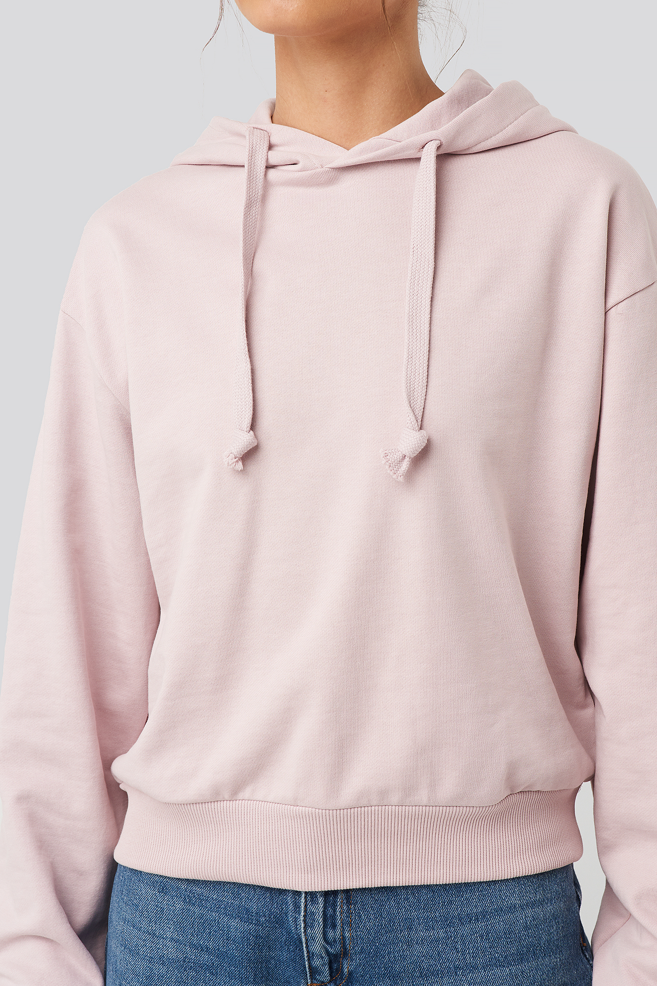 Dusty Light Pink Normale Hoodie