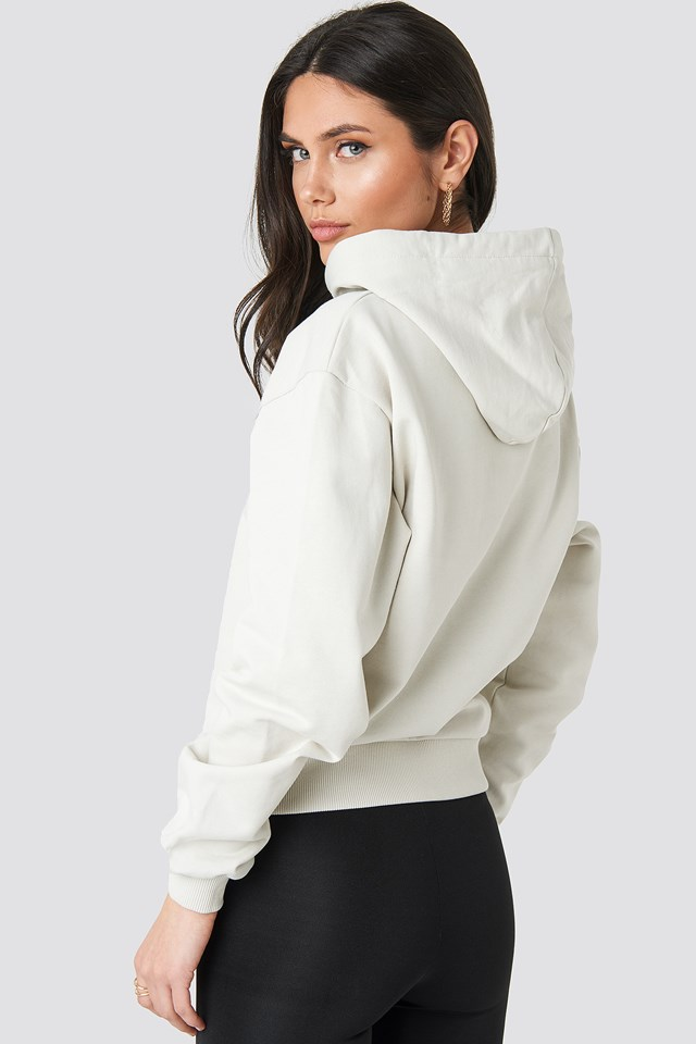 Basic Hoodie Dusty Light Beige