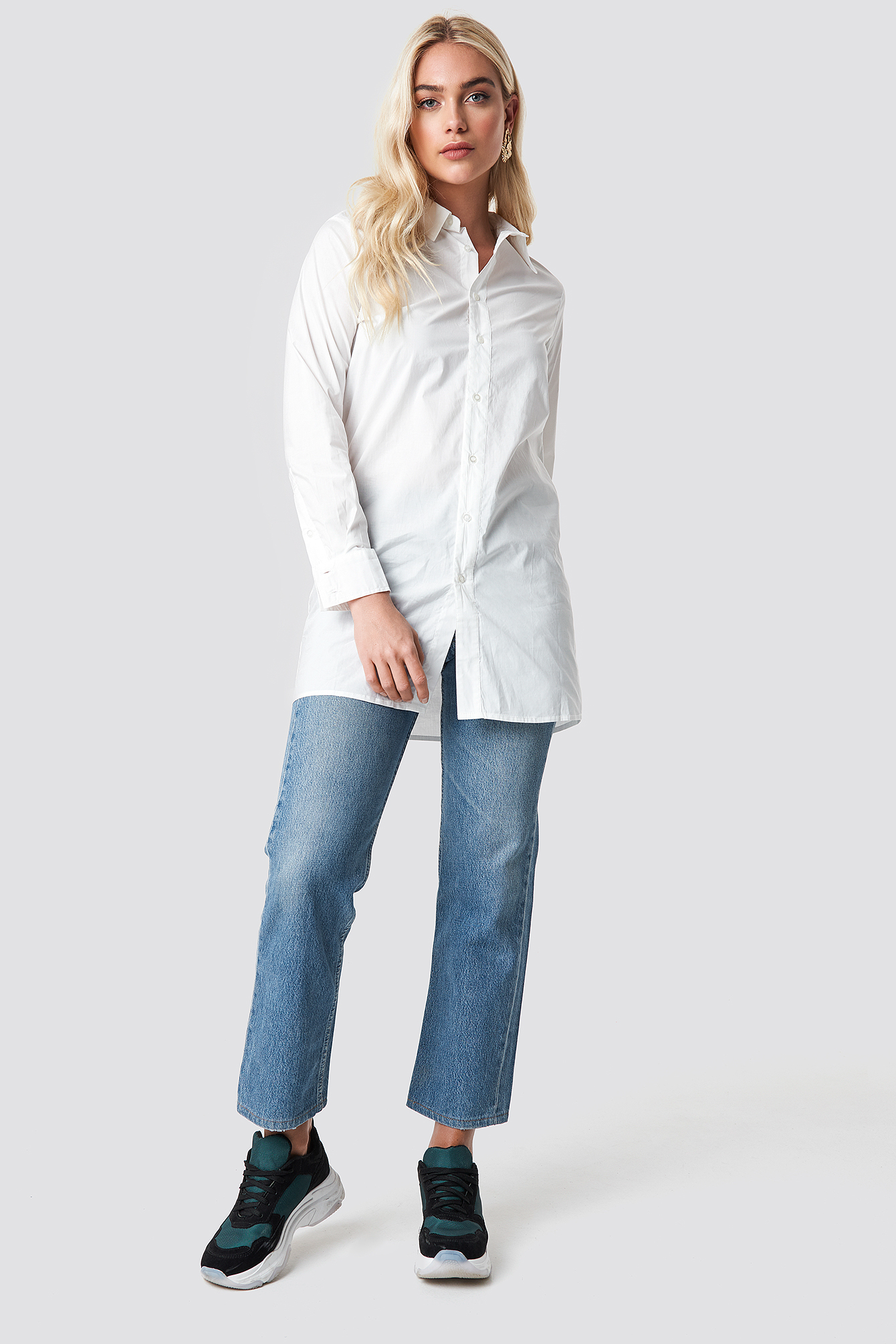 Basic Long Shirt NA-KD.COM