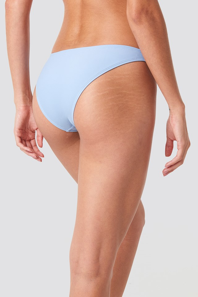 Basic Low Cut Bikini Bottom Blue
