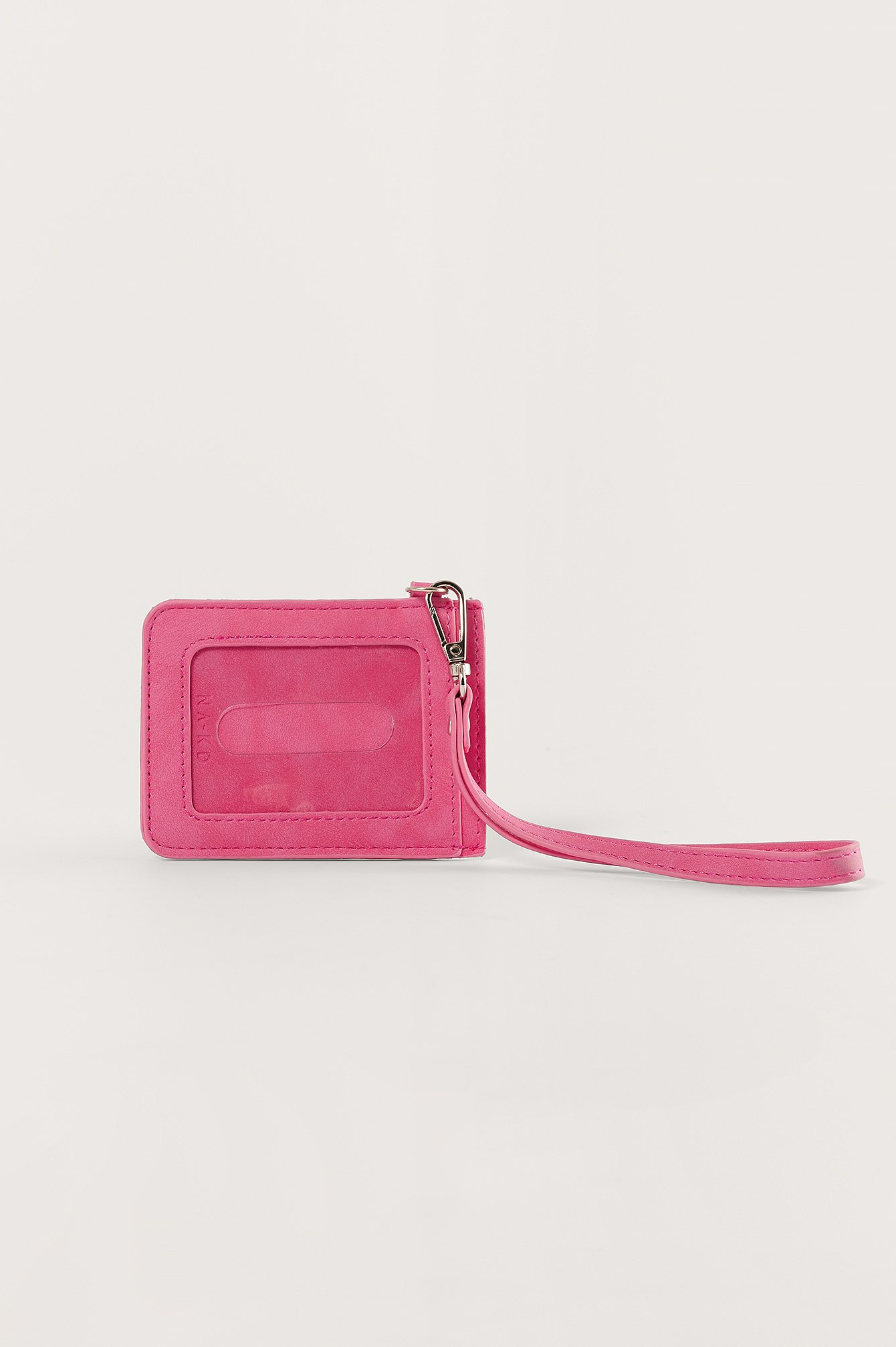 NA-KD Accessories Basic Luggage Tag - Pink